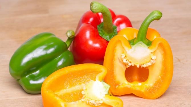 Квашеная капуста и болгарский перец оказались лучшими источниками витамина C