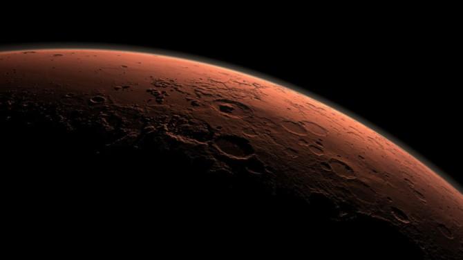 На Марсе нашли следы засух и наводнений