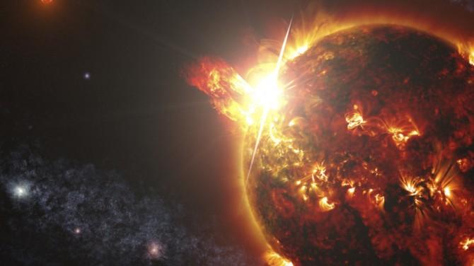 Ближайшая к Солнцу звезда испустила рекордную вспышку