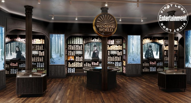 В Нью-Йорке откроют магазин «Гарри Поттера»