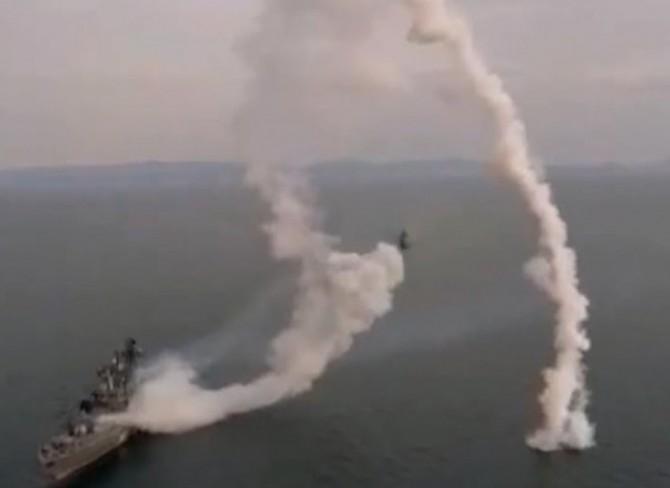 В России военные едва не разбомбили себя собственной ракетой (ВИДЕО)
