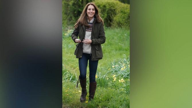 Кейт Миддлтон переняла привычку принца Филиппа