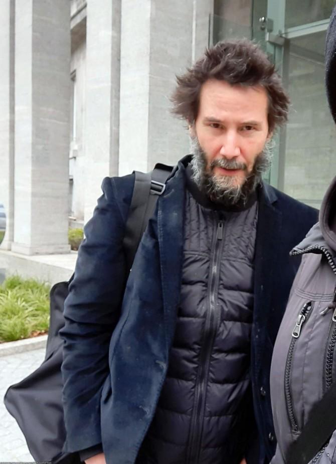 Киану Ривза снова приняли за бездомного