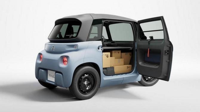 Citroen представил сверхкомпактный грузовой фургон My Ami Cargo