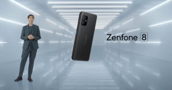 Компания ASUS показала новый смартфон Zenfone 8 Flip с поворотной камерой