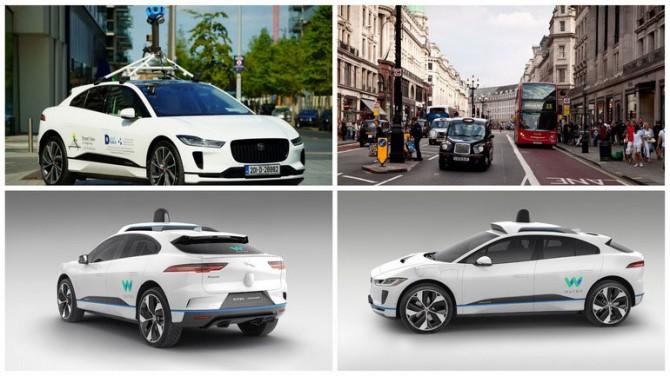 Google будет мониторить чистоту воздуха с помощью автомобилей Jaguar I-Pace