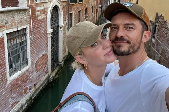 Орландо Блум и Кэти Перри отдыхают в Венеции