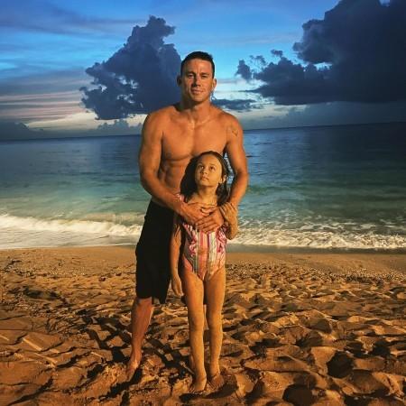 Ченнинг Татум впервые показал лицо 8-летней дочери в соцсетях