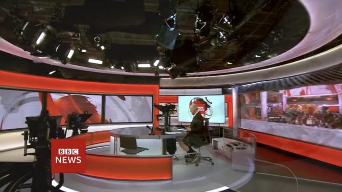 Ведущий BBC оконфузился в прямом эфире (ВИДЕО)