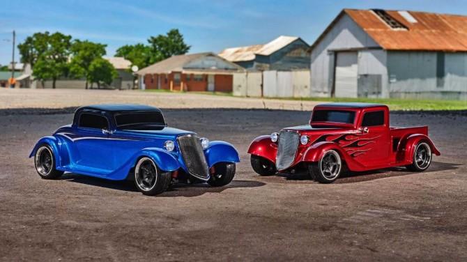 Фирма Traxxas представила радиоуправляемые автомобили с кузовом хот-род в стиле 30-х годов (ВИДЕО)