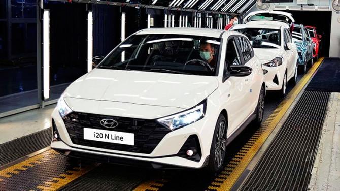 Hyundai запустил производство новых i20 N и i20 N Line
