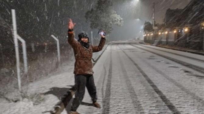 Бразилию засыпало снегом (ВИДЕО)