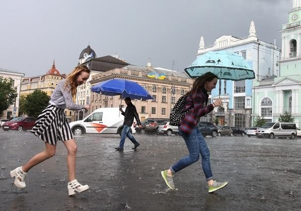 В Киеве в День Независимости будут дождь и грозы