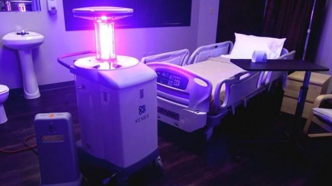 В Китае создали лампу, уничтожающую коронавирус на 99,99 процентов
