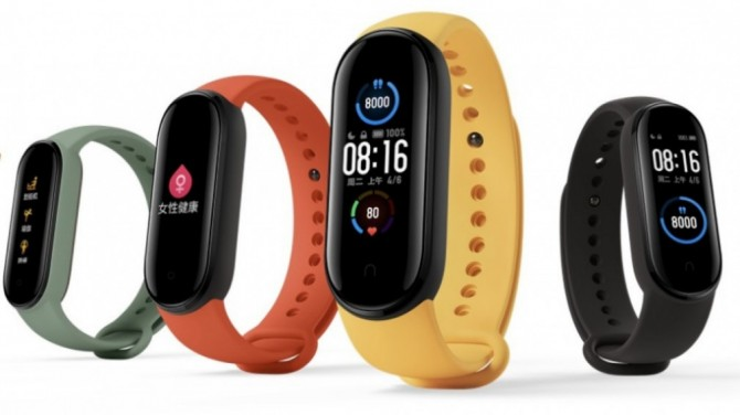 Xiaomi выпустила обновление для фитнес-браслета Mi Smart Band 6
