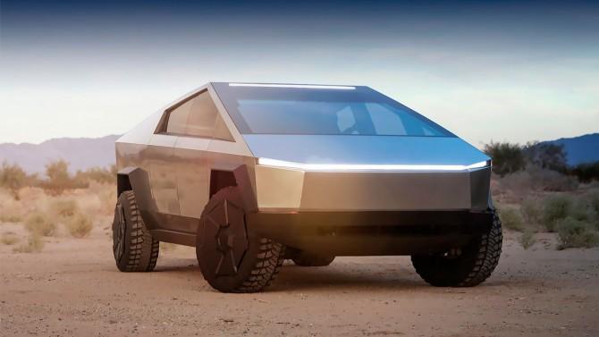 Tesla представила пикап Cybertruck на видео