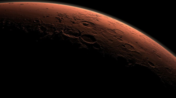 «Черничные» камни на Марсе могут содержать воду