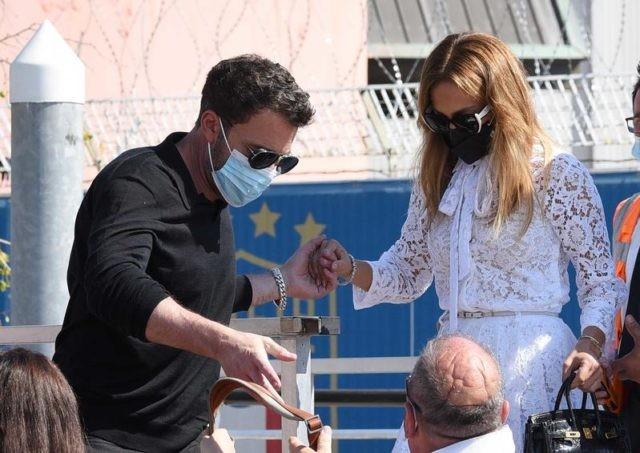 Дженнифер Лопес и Бен Аффлек приехали на Венецианский кинофестиваль