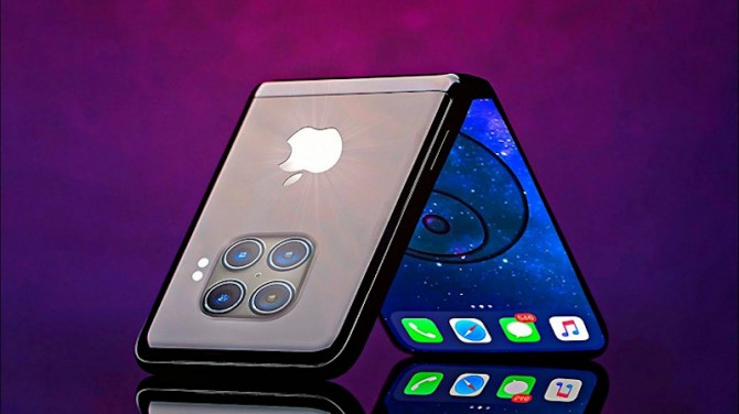 Apple разрабатывает сразу две модели iPhone со складным экраном