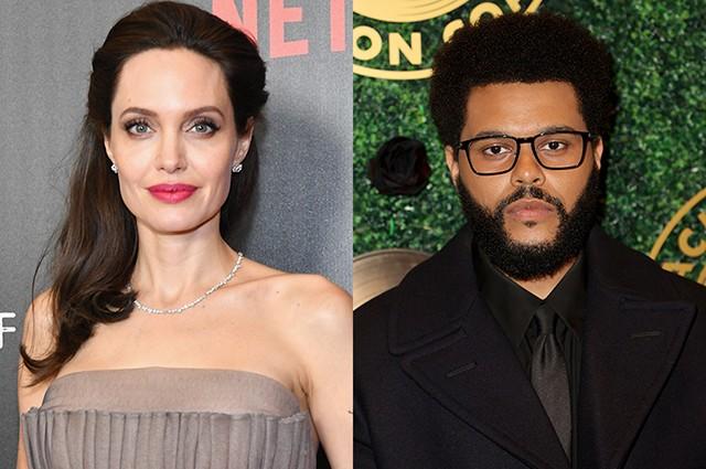 Анджелина Джоли впервые прокомментировала роман с The Weeknd