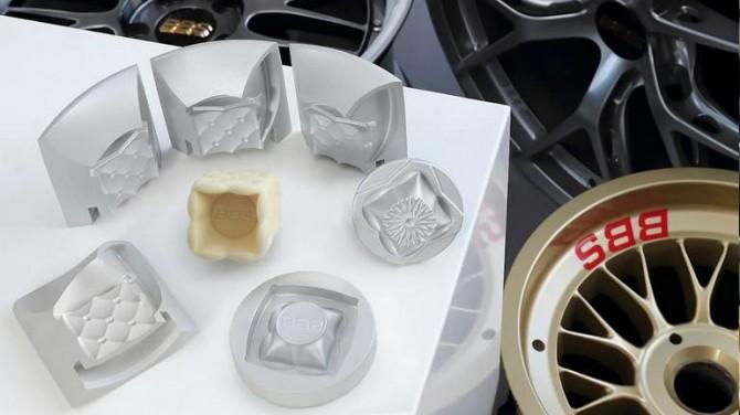 Гоночные колеса BBS теперь можно сделать из шоколада (ВИДЕО)