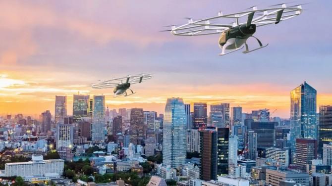В Японии к 2023 году появится летающее электротакси